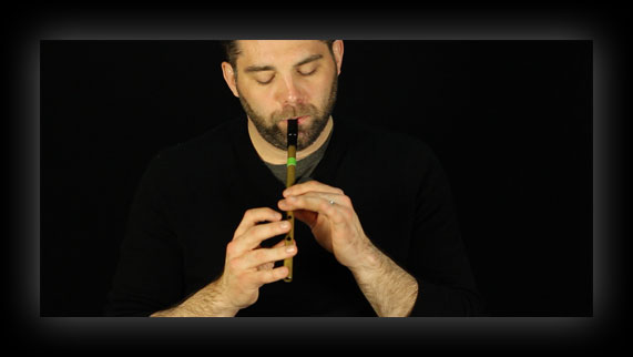 Tin whistle tutorials on YouTube